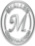 McAllen Construction Inc., Utility Works Escavations Carpenty Snow Removal – Prospect CT Logo